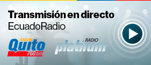 EN VIVO: Transmisión de los noticieros EcuadoRadio en Radio Quito y Platinum